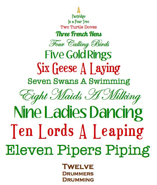 Payhembury Christmas Tree Festival ' The Twelve Days of Christmas ...